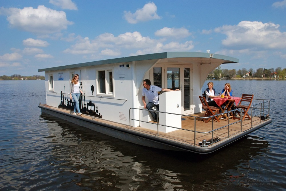 Riverlodge H2home Hausboot mieten