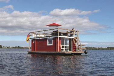 Sundeck Hausboot